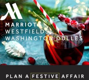 Plan your festive Party at the Westfields Marriott
