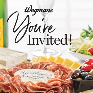 You're Invited – Holiday Catering with Wegmans